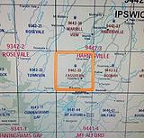 Fassifern - 1:25k topo map - 9442-33