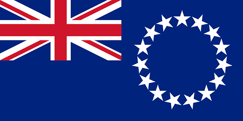 Cook Islands Flag - 1800mm x 900mm