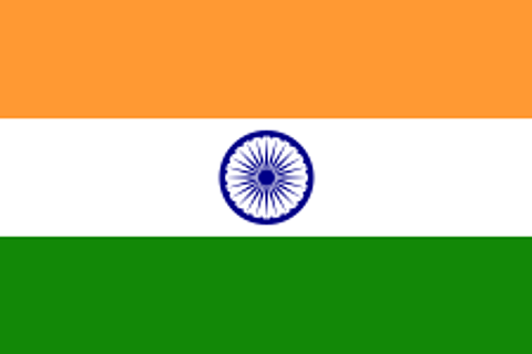 India Flag - 1800mm x 900mm