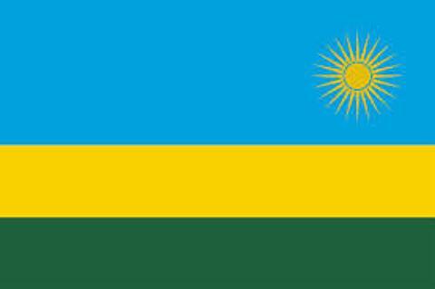 Rwanda Flag - 1800mm x 900mm