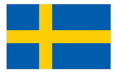 Sweden Flag - 1800mm x 900mm