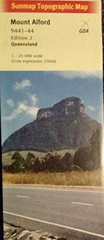 Mount Alford 1:25k Topo