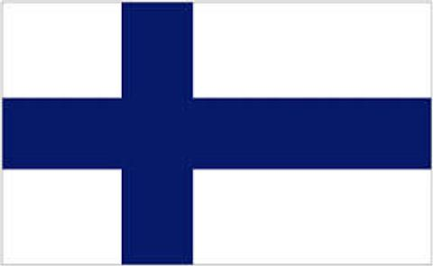 Finland Flag - 1800 mm x 900 mm