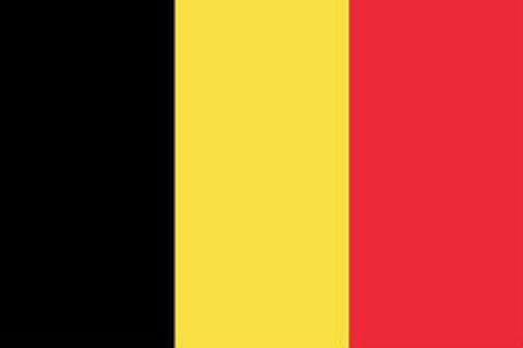 Belgium Flag - 1800 mm x 900 mm