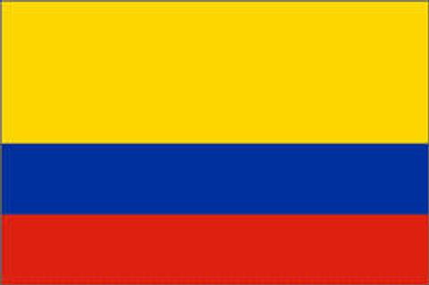 Columbia Flag - 1800 mm x 900 mm