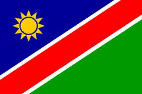 Namibia Flag - 1800 mm x 900 mm