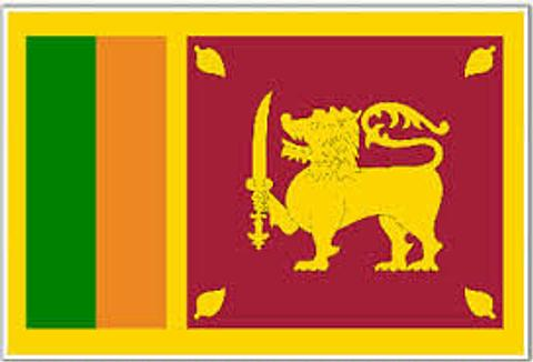 Sri Lanka Flag - 1800 mm x 900 mm