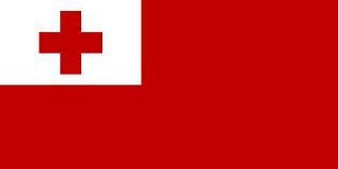 Tonga Flag  - 900 mm x 450 mm