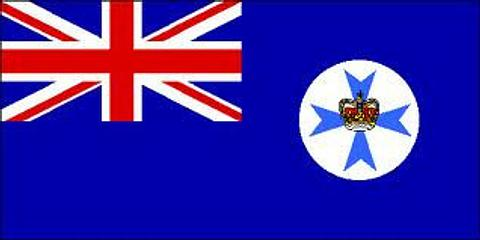 Queensland State Flag - 1800 mm x 900 mm