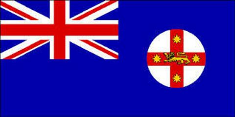 New South Wales State Flag - 1800 mm x 900 mm