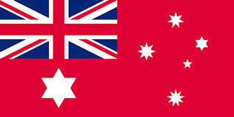 Australian Red Ensign Flag - 500 mm x 250 mm
