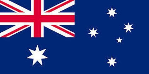Australian Flag - 900 mm x 450 mm