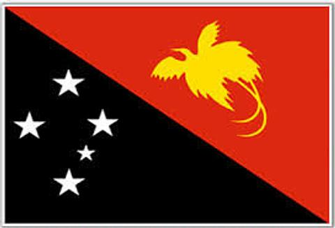 Papua New Guinea Flag - 1800 x 900 mm