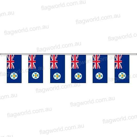 Queensland Flag Bunting - 10m