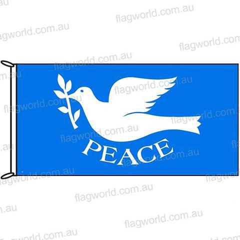 Peace Flag - 1800 x 900 mm