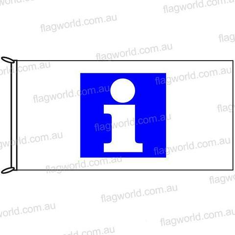 Information Flag - 1800 x 900mm