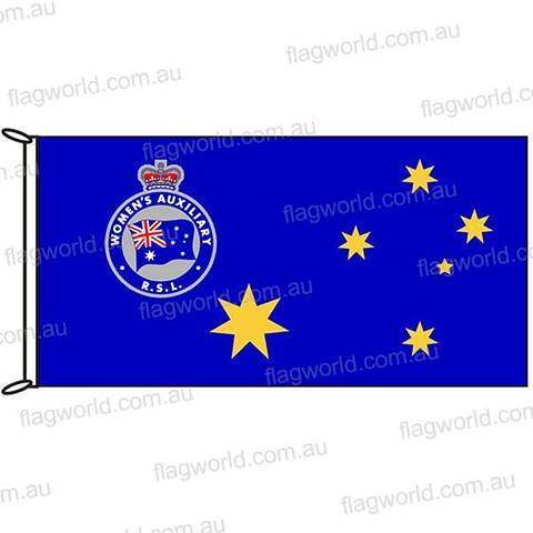RSL Womens Auxilliary Flag - 1800 x 900mm