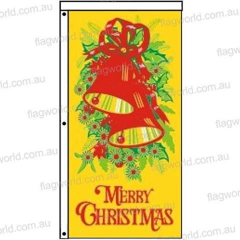 Merry Christmas Flag - 1860 x 900 mm