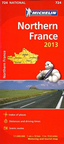 France - Northern France by Michelin