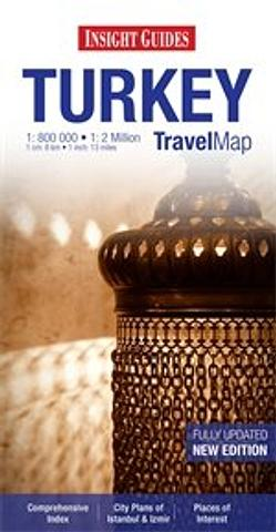 Turkey - Travel Map Insight Guides