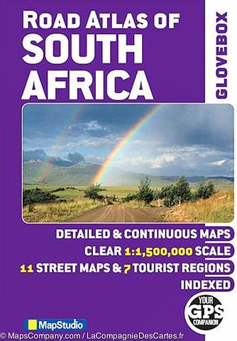 South Africa Road Atlas - Glovebox size