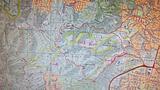 Enoggera 25k Topo - Bush Walks Map