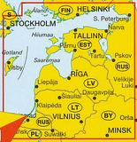 Estonia, Latvia, Lithuania - Baltic States