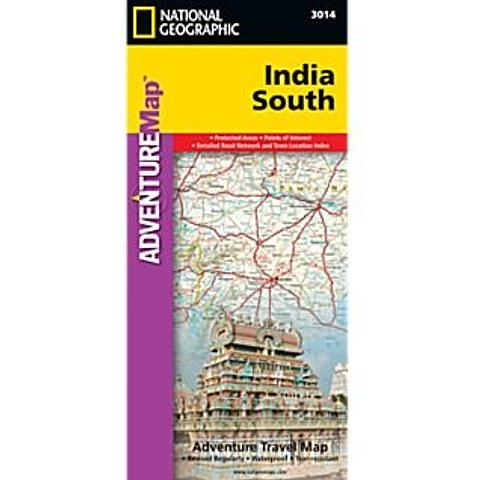 India - South India - Adventure Travel Map by National Geographic