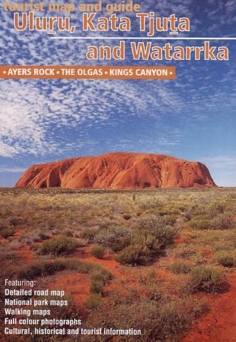 Uluru Kata Tjuta and Watarrka (Kings Canyon) map