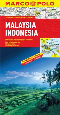 Malaysia Indonesia - Marco Polo maps
