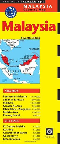 Malaysia - Periplus Travel Map