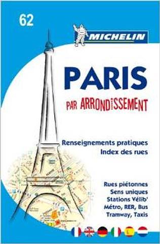 Paris par Arrondissement Atlas Map