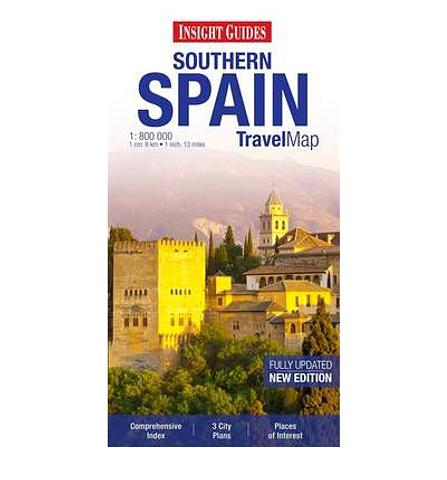 Spain - Southern Spain Insight Guides Map