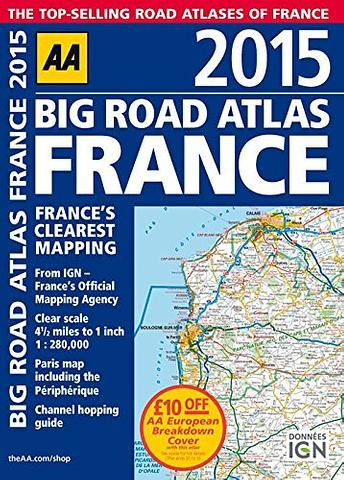 France - AA Big Road Atlas