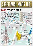 Tokyo - Streetwise Tokyo Map