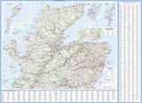 Scotland Touring Map by Collins