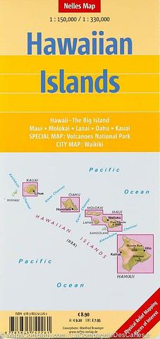 Hawaiian Islands - Nelles - folded map