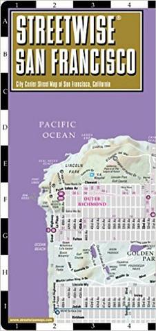 San Fransisco - Streetwise Compact Map