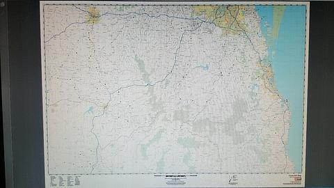 Brisbane Business Wall Maps - Noosa to Byron Bay