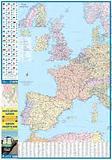 Europe Railway & Road Map
