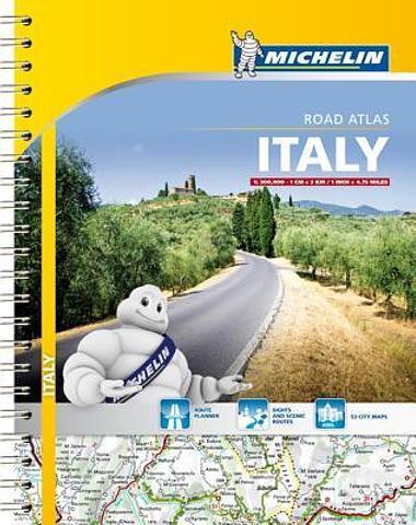 Italy - Michelin Road Atlas
