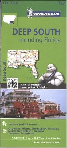 USA Deep South & Florida - Michelin