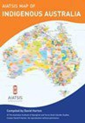 Aboriginal Australia - Folded Map