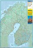 Scandinavia - Folded map by ITM