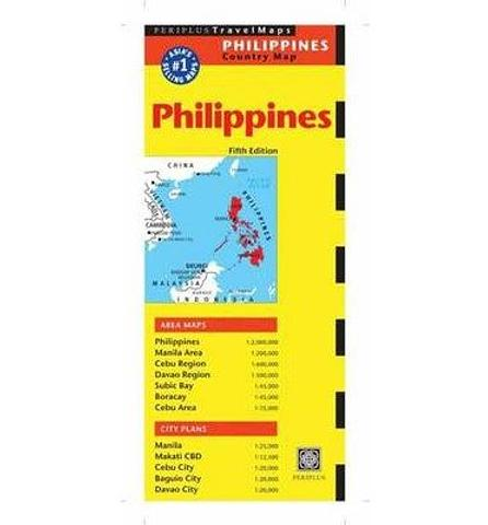 Philippines - Folded map by Periplus
