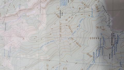 Binna Burra to OReilly - Topographic Map