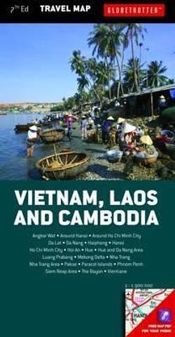 Vietnam Laos and Cambodia - Travel Map