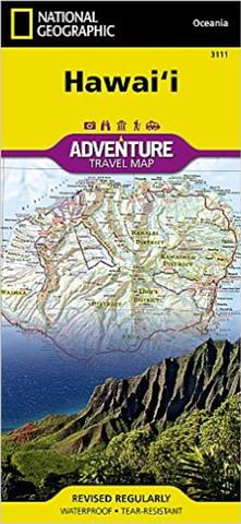 Hawaii Adventure Travel Map - National Geographic