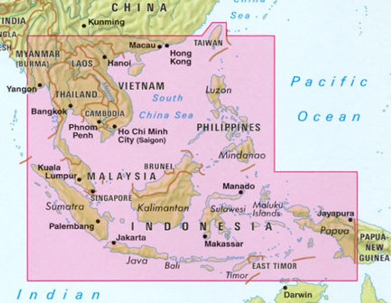 Southeast asia thailand laos cambodia vietnam malaysia singapore click to zoom in gumiabroncs Images