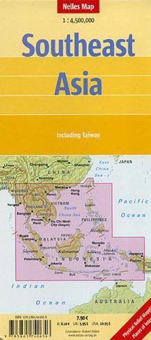 Map Of Asia Brunei.Southeast Asia Thailand Laos Cambodia Vietnam Malaysia Singapore